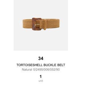 Zara Tortoise Shell Belt